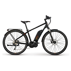 Raleigh Electric Cadent iE Step Over Black MD