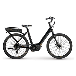 Raleigh Electric Sprite iE Step Thru Black